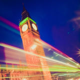 Retro look Big Ben Royalty Free Stock Images