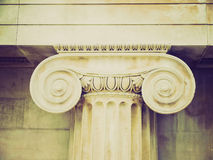 Retro look Capital Royalty Free Stock Images