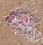 Retro look Carnival confetti Royalty Free Stock Image