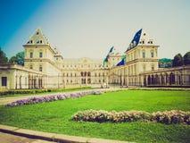 Retro look Castello del Valentino, Turin Stock Image