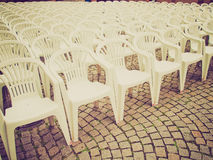 Retro look Chairs Royalty Free Stock Image