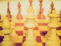 Retro look Chessboard Royalty Free Stock Photo