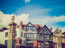 Retro look City of Canterbury Stock Photography