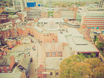 Retro look City of Coventry Royalty Free Stock Image