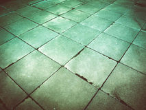 Retro look Concrete pavement Royalty Free Stock Photography
