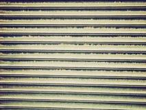 Retro look Corrugated steel Stock Image