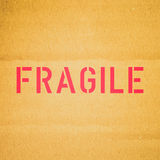 Retro look Fragile picture Royalty Free Stock Photo