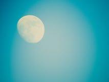 Retro look Full moon Stock Photo