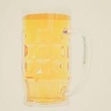 Retro look German beer glass Stock Photography