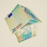 Retro look House of Money Stock Photography