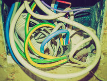 Retro look Junction Box Stock Images