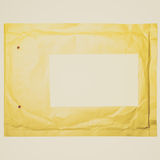 Retro look Letter envelope Royalty Free Stock Photos