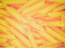 Retro look Macaroni Royalty Free Stock Image