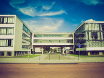 Retro look Modern architecture Royalty Free Stock Photos