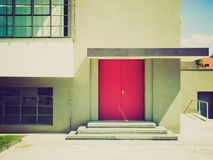 Retro look Modern architecture Royalty Free Stock Images