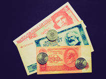 Retro look Money picture Royalty Free Stock Images