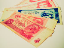 Retro look Money picture Royalty Free Stock Photos