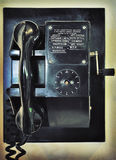 Retro look old ship's radio Royalty Free Stock Photo
