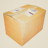 Retro look Parcel picture Stock Image