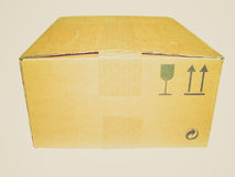 Retro look Parcel Stock Photos