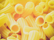 Retro look Pasta picture Royalty Free Stock Photos