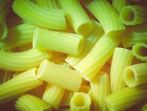 Retro look Pasta picture Stock Images