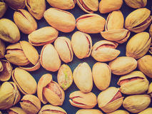 Retro look Pistachios Royalty Free Stock Images