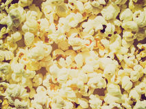 Retro look Pop Corn Stock Photo