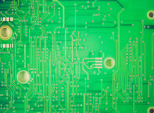 Retro look Printed circuit Stock Photography