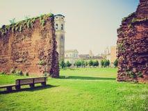 Retro look Ruins, Turin Royalty Free Stock Photo