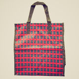 Retro look Shopper bag Royalty Free Stock Image