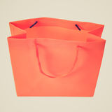 Retro look Shopping bag Stock Image