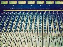 Retro look Soundboard Royalty Free Stock Images