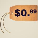 Retro look Tag label Royalty Free Stock Photos