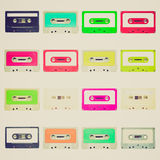 Retro look Tape cassette Royalty Free Stock Photography