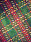 Retro look Tartan background Stock Photo