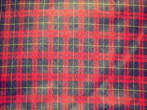 Retro look Tartan background Royalty Free Stock Photography