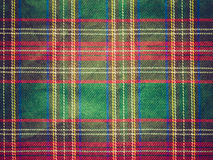 Retro look Tartan background Royalty Free Stock Images