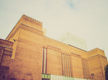 Retro look Tate Gallery Royalty Free Stock Photos
