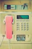 Retro look Telephone Stock Images