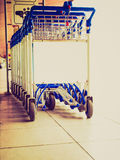 Retro look Trolley Stock Images