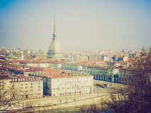 Retro look Turin, Italy Stock Photos