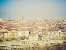 Retro look Turin, Italy Royalty Free Stock Image