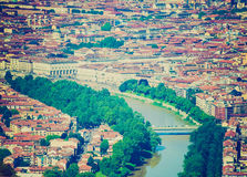 Retro look Turin, Italy Royalty Free Stock Images