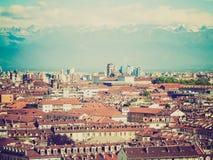 Retro look Turin, Italy Stock Photography