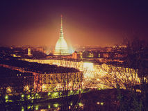 Retro look Turin view Stock Image