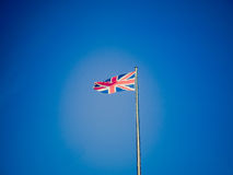 Retro look UK Flag Royalty Free Stock Photos