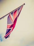 Retro look UK Flag Royalty Free Stock Photos