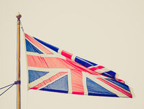 Retro look UK Flag Royalty Free Stock Image