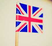 Retro look UK Flag Royalty Free Stock Photo